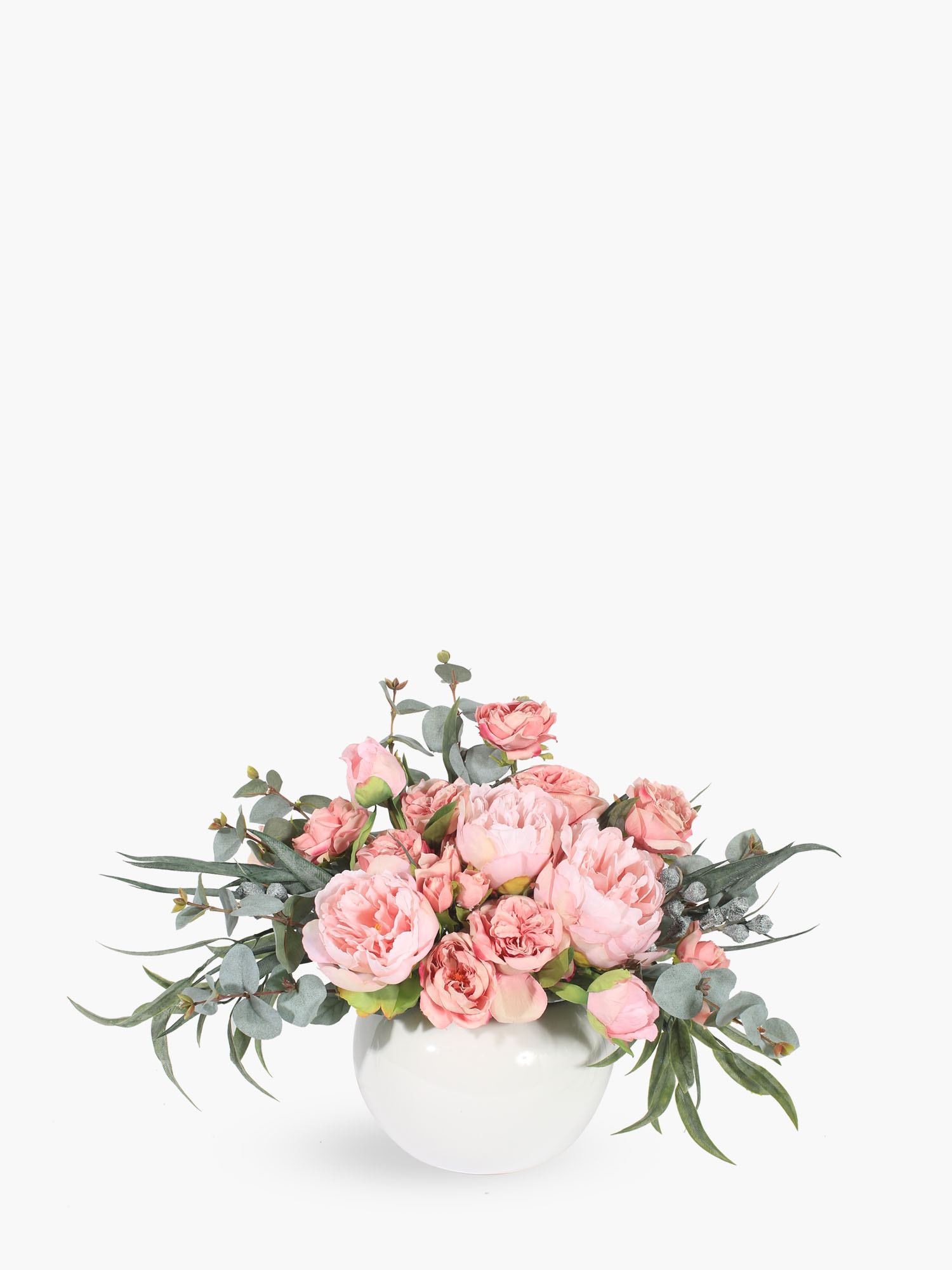 small pink rose floral arrangement